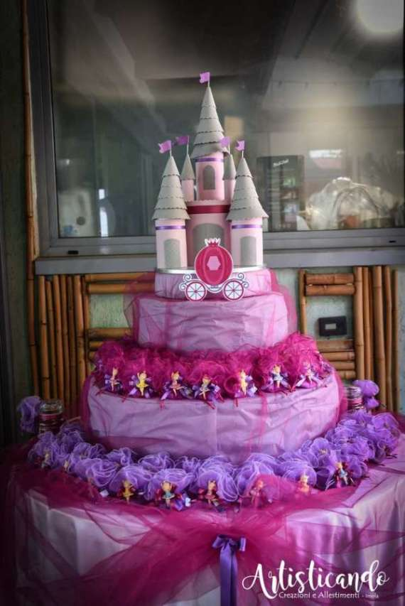 Magical Pink And Violet Twin Celebration Birthday Party