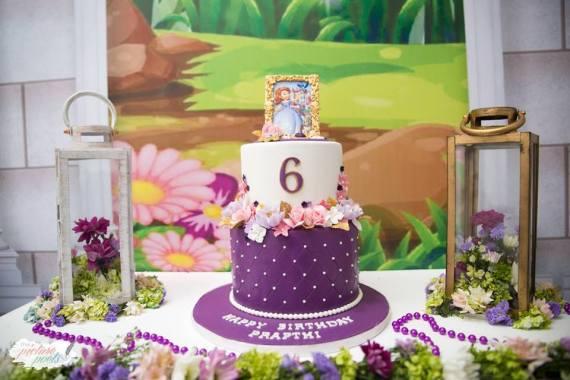 Princess-Sophia-Birthday-Cake