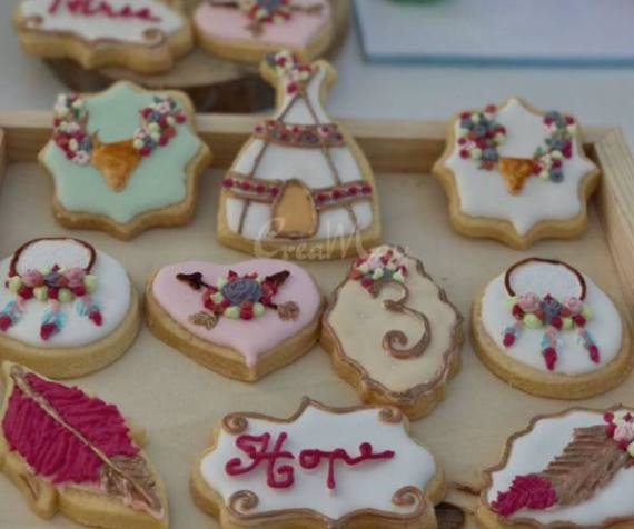 Outdoor-Bohemian-Chic-Party-Cookies