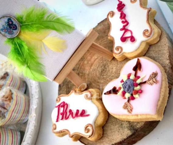 Outdoor-Bohemian-Chic-Party-Sugar-Cookies