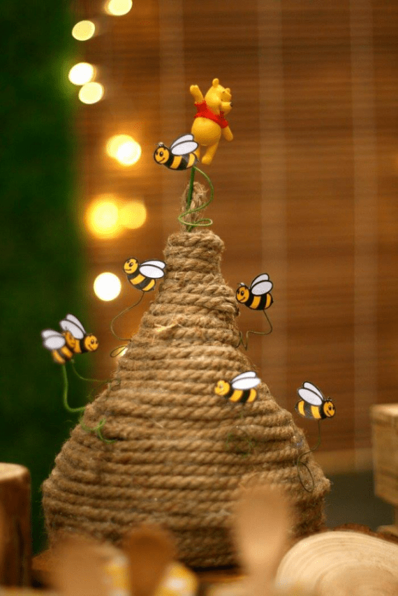 Winnie-The-Pooh-Bear-Birthday-Party-Bee-Hive