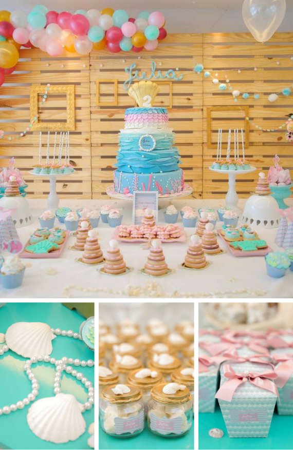 Mermaids Birthday Party