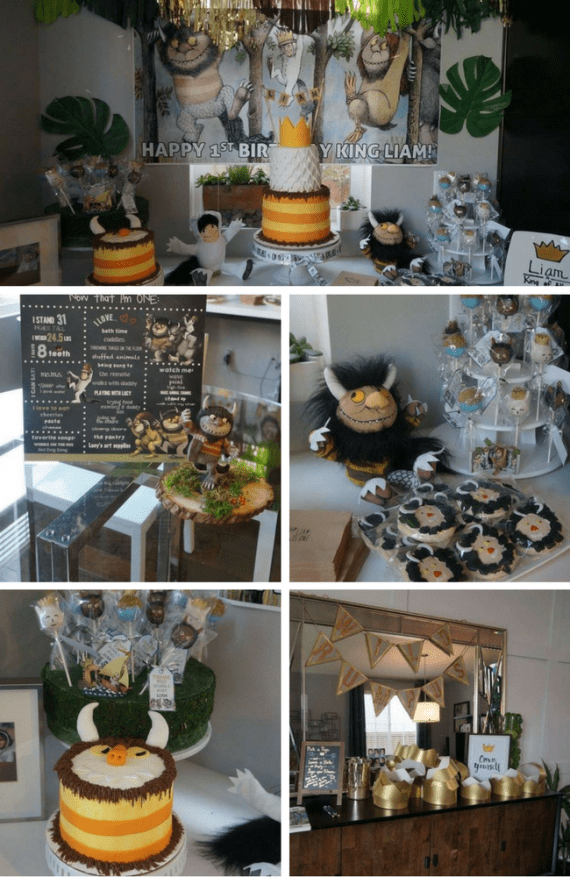 Wild Rumpus 1st Birthday party