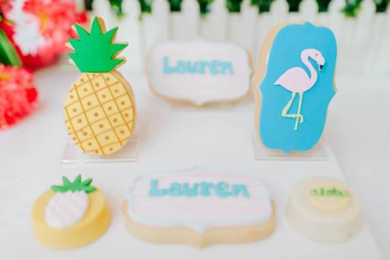 Tropical-Flowers-And-Flamingos-Birthday-Sugar-Cookies