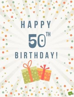Small Of Happy Birthday 50