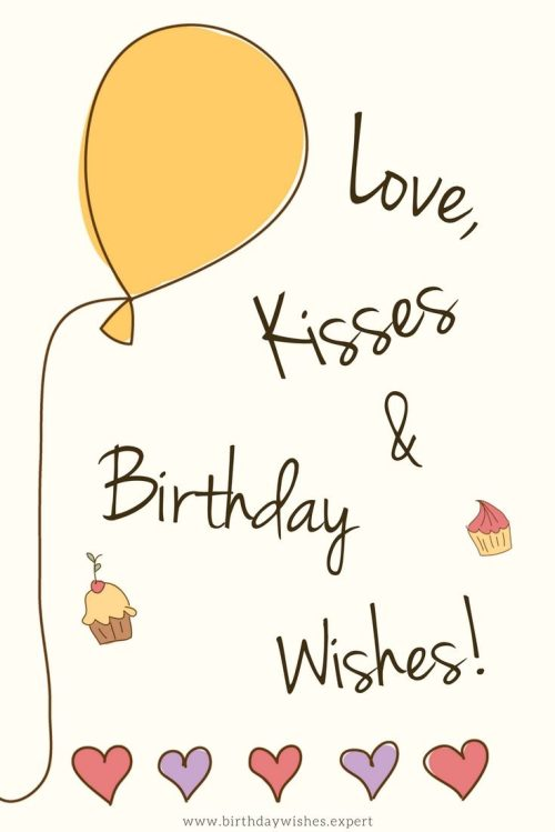 Medium Of Simple Birthday Wishes