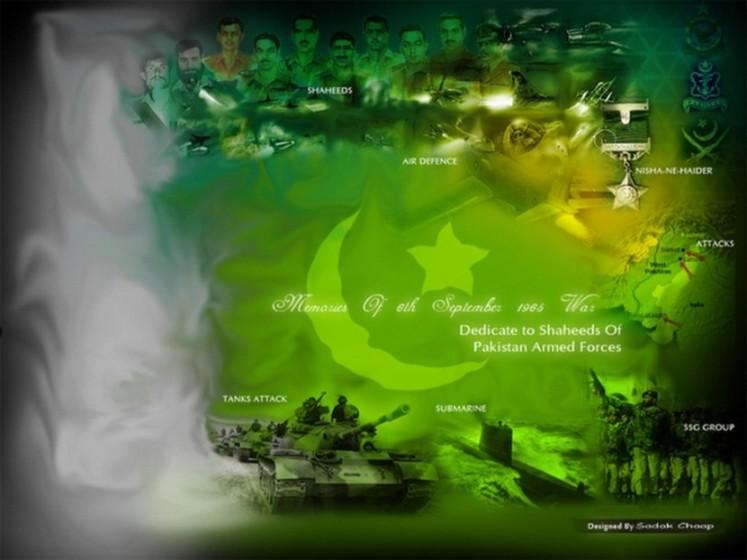 Youm-e-Difa Wallpapers 2013