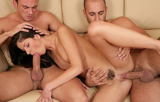sensual mfm threesome for her