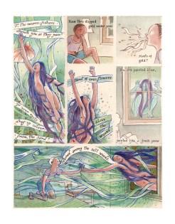 """""""Sea Iris"""", page 2 of 3"""