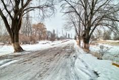 Winterliches Kirgistan
