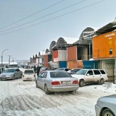 Ost Eingang des Osh Bazar