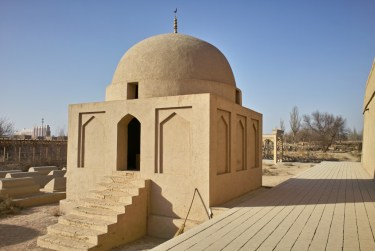 Friedhof des Emin Minaretts in Turpan