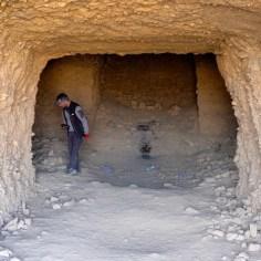 Grotten auf dem Weg nach Sunan Gansu