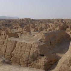 Jiaohe Ruinen