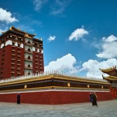 Der Palast von Hezuo