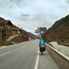 Dörfer auf dem Weg.