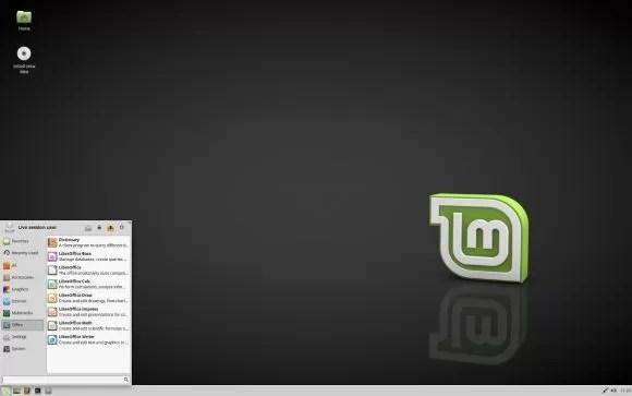 Linux Mint 18.1 Xfce mit Whisker-Menü 1.6.2 (Quelle: linuxmint.com)