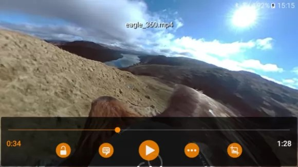 360°-Video mit VLC (Quelle: geoffreymetais.github.io)