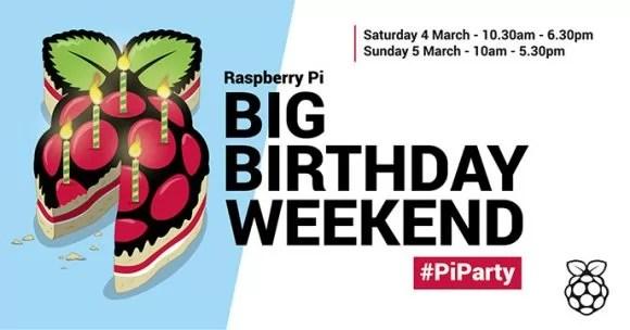 #PiParty am 4. und 5. März (Quelle: raspberrypi.org)
