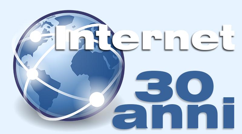 Internet compie 30 anni