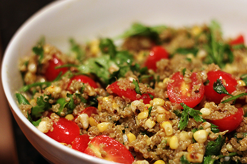 summer quinoa salad 7