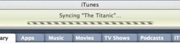 Syncin the titanic