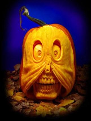 Pumpkin carving zip