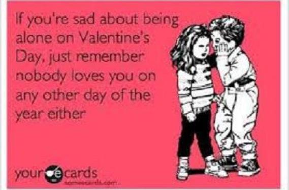 Sad on valentines day