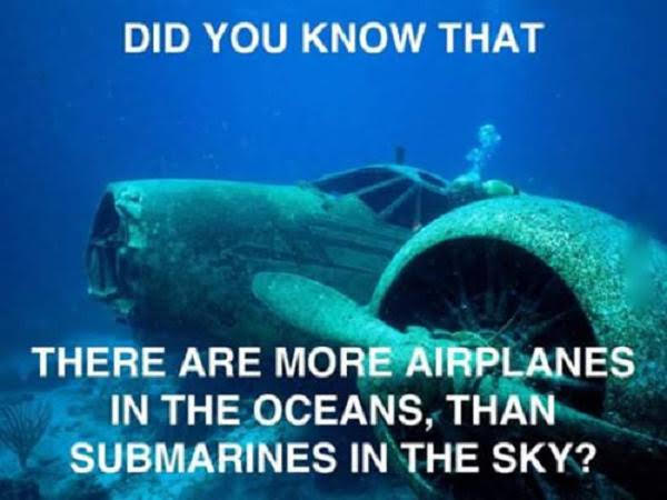Airplanes and Submarines