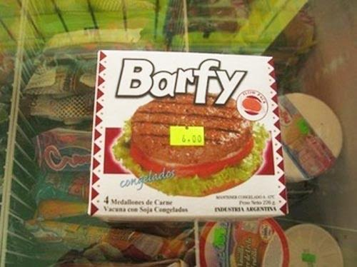 How about a Barfy Burger