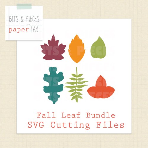 Fall Leaf SVG cutting files