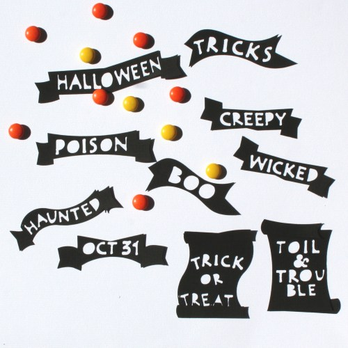Spooky Sayings Halloween SVG Cutting Files