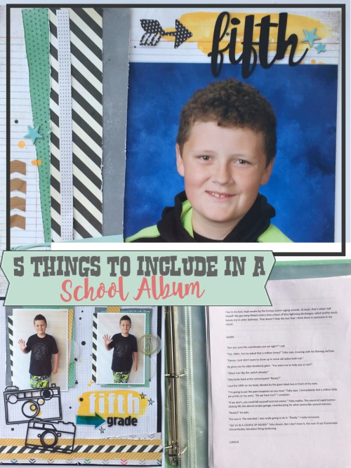What to Include in a School Album