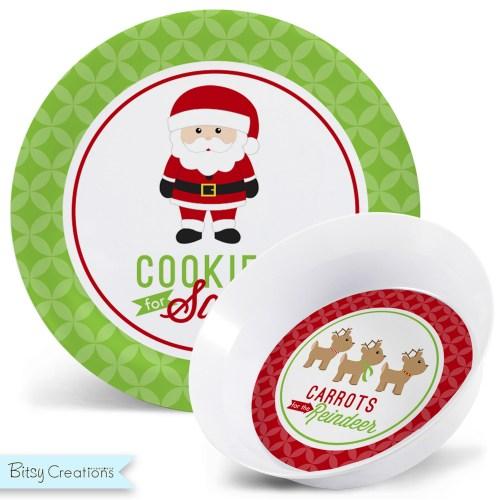 Medium Crop Of Cookies For Santa Plate