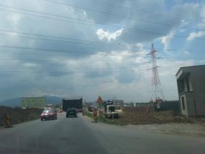 Ocolitoare tronson 2 Sanpetru lucrari asfaltare iulie 20162