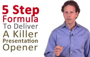 How to Give Killer Openers