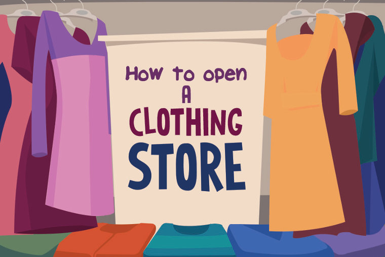 How to Open a Clothing Store – in Infographic