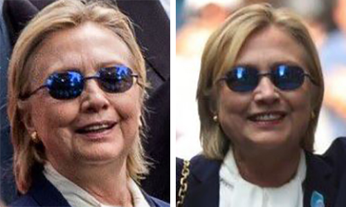 Image result for hillary clinton's body double pictures