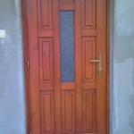 festett kazettás ajtó