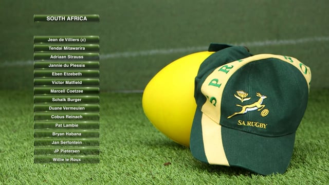QBE England vs South Africa live broadcast