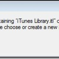 The Folder Containing iTunes Library Cannot Be Found