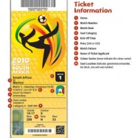FIFA Soccer World Cup 2010 Tickets