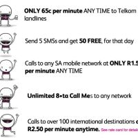 8ta from Telkom is South Africa's 4th Mobile Operator. Heita!