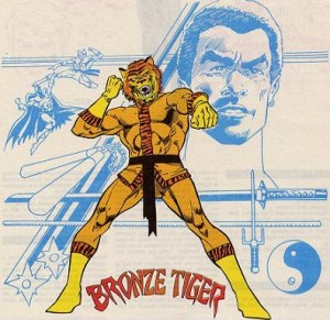 Bronze Tiger Comics