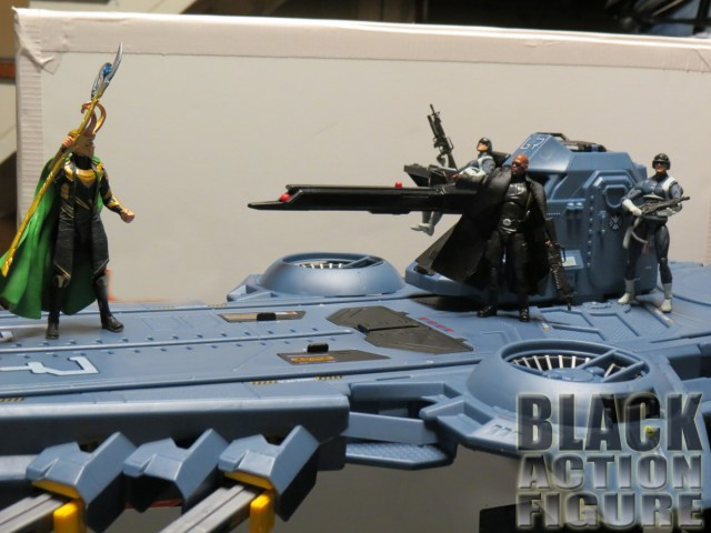 Loki / Nick Fury Showdown on the Helicarrier