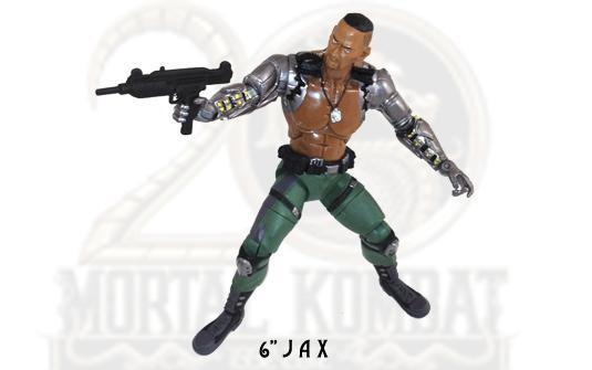 Jazwares Mortal Kombat 6&quot; Jax