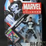Marvel Universe Punisher Front of Package