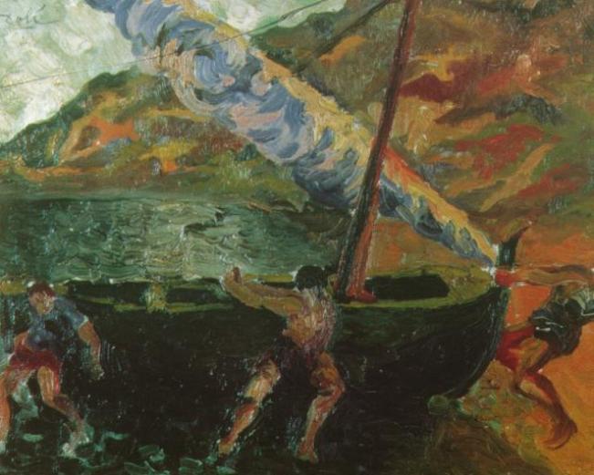 Fisherman at Cadaques 1922 Salvador Dali – Poster Canvas Art print ...