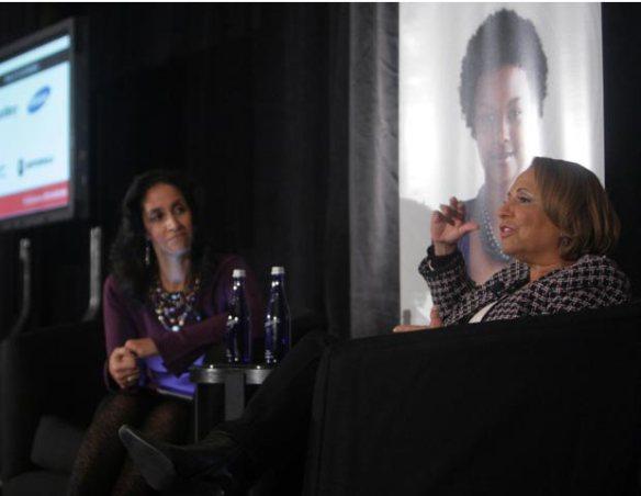 Caroline Clarke interviews Cathy Hughes
