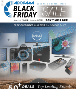 adorama black friday scan - page 1